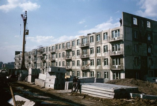 Новостройки Москвы, 1964