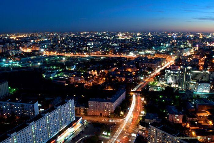 Москва с высоты птичьего полета (27 фото)