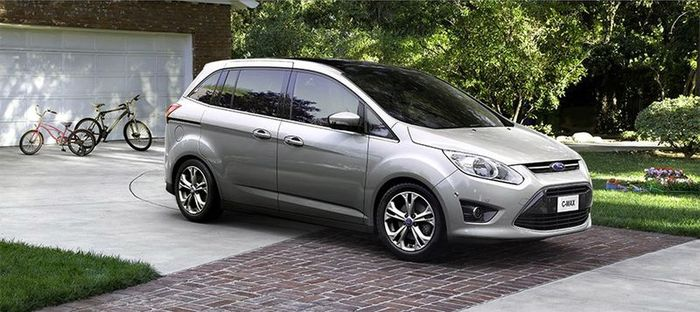Новый Ford C-Max для американского рынка (43 фото+видео)