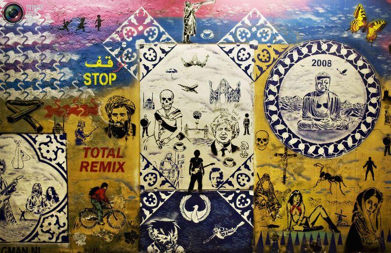 Деталь работы в туннеле в Лондоне.
