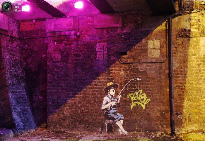 Banksy: Человек, Миф, Легенда (23 фото)