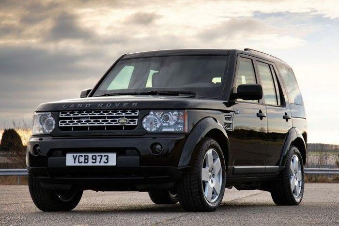 Бронированный Discovery 4 от Land Rover (5 фото)