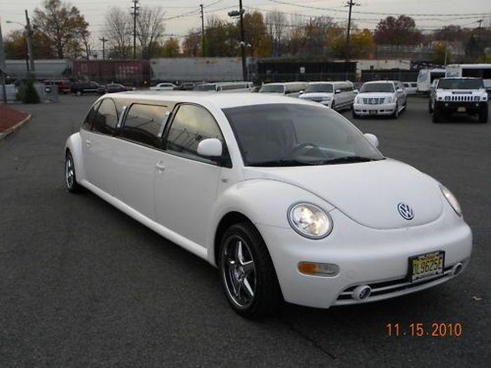 Лимузин из VW New Beetle (17 фото)