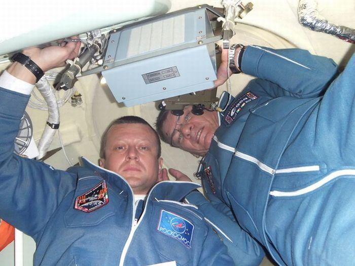 Российский космический блогер сделал фоторепортаж о полете к МКС (16 фото)