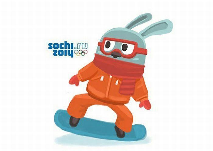 Какой талисман будет у Олимпиады в Сочи? (10 картинок)