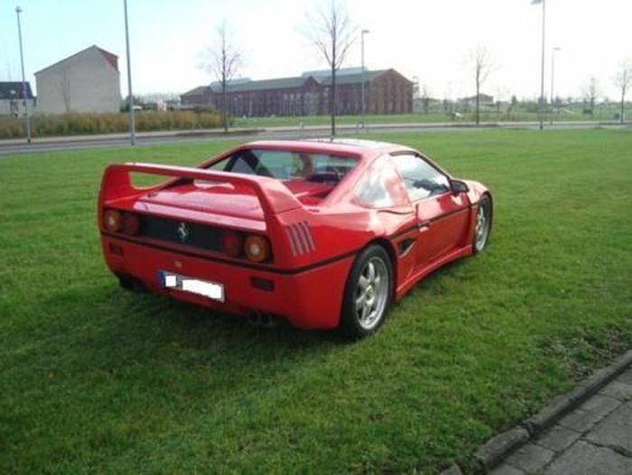 Pontiac Fiero превратился в Ferrari F40 (13 фото)