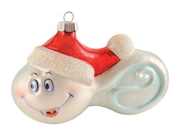 Елочные игрушки для взрослых (55 фото)