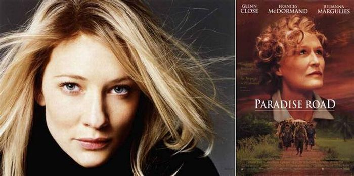 "Кейт Бланшетт <br> Первая роль: ""Рай-роуд"", 1997"