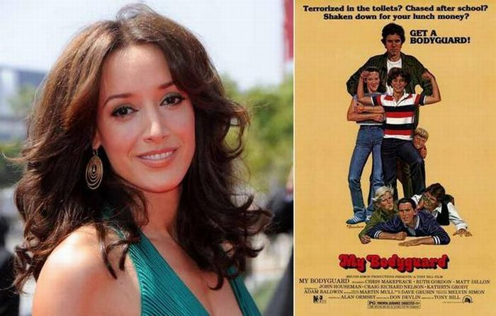 """Дженнифер Билс <br> Первая роль: """"Мой телохранитель"""", 1980"""