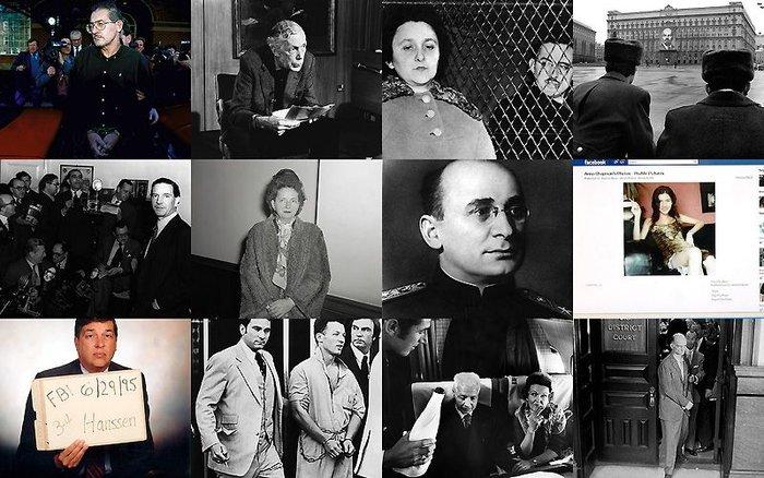 Знаменитые советские и российские шпионы (12 фото)