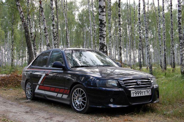 Ростовский тюнинг Hyundai Accent (5 фото)