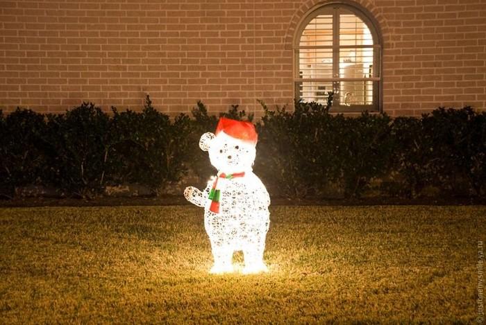Рождественские огни американских городов (30 фото)