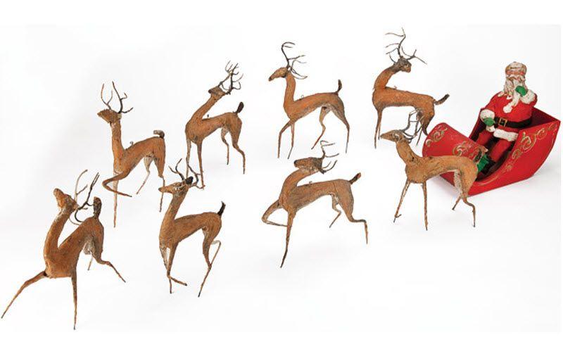 13. Знаменитая упряжка с оленями и сам Санта Клаус из фильма «Чудо на 34 улице». (Примерная цена 20-30 тыс. долл).