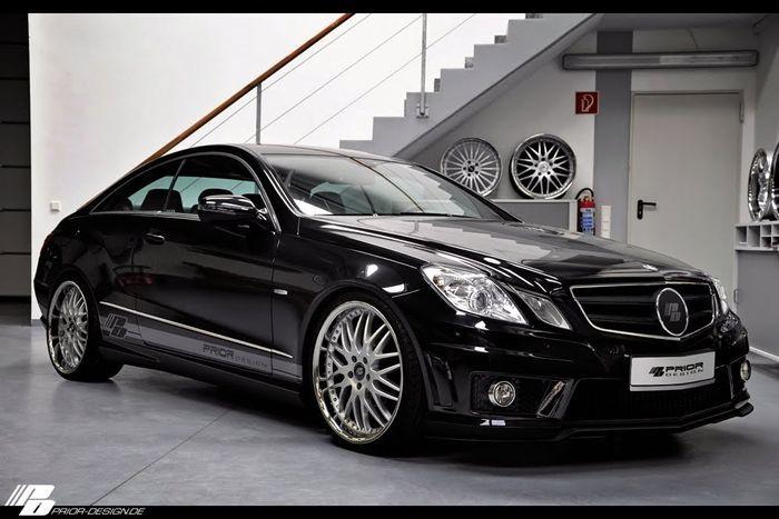 Ателье Prior Design прокачало Mercedes E-class Coupe (5 фото)