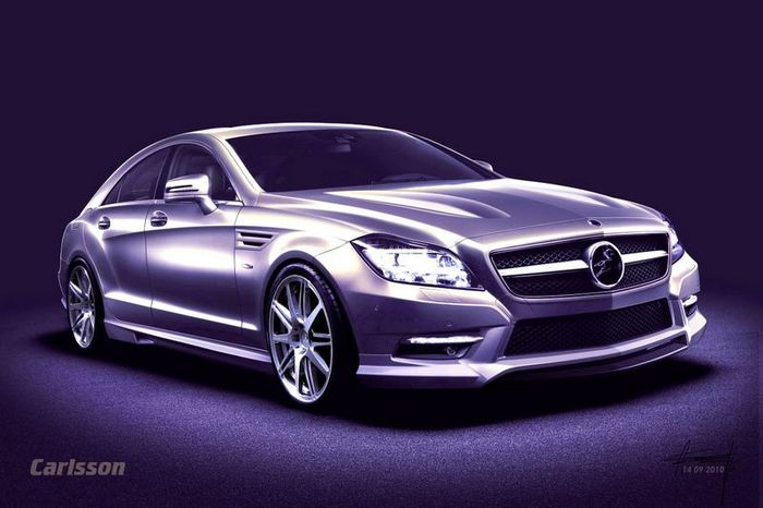 Carlsson подготовили тюнинг-пакет для Mercedes CLS 2011 (4 фото)