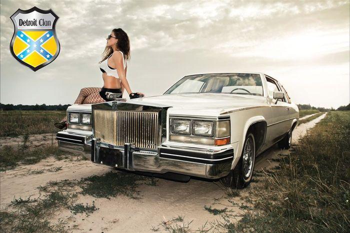 Календарь American cars&Ukrainian girls (13 фото)