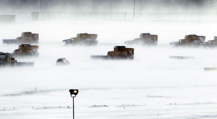 Суровая зима (40 фото)