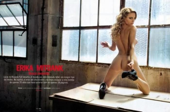 Erika Mitdank в Плейбой Аргентина (14 фото)