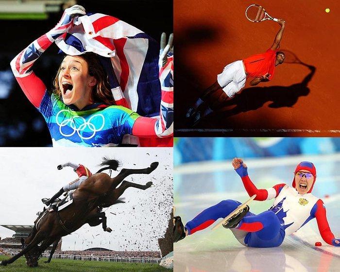 Лучшие спортивные фото 2010 (72 фото + текст)