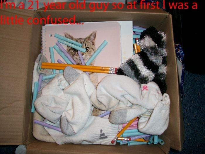 Отличный пример, как занять своего сына (4 фото)