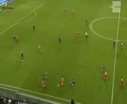 Жуткий двойной перелом в футболе