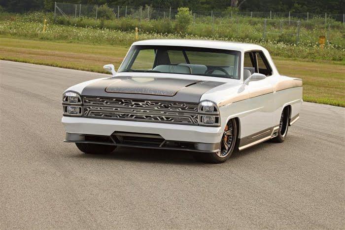 Тотальный кастом-кар 1967 Chevrolet Nova (90 фото+2 видео)
