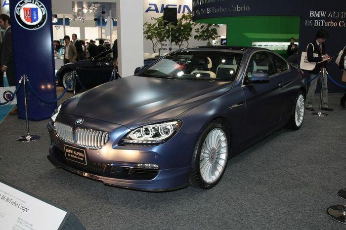Компания Alpina показала новую BMW 6 Series в своем тюнинге (25 фото)