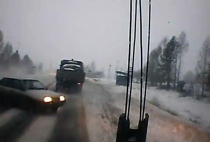Авария дня часть 383 (фото+видео)