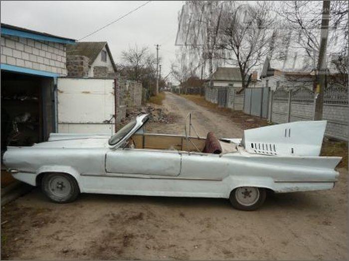 Ласточка - машина Фантомаса из Черкассов (4 фото)