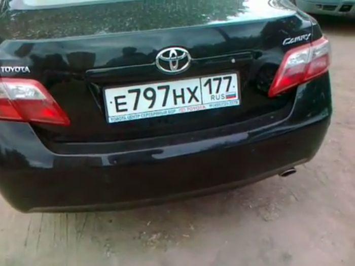 Недовольный владелец Toyota Camry (5 видео)
