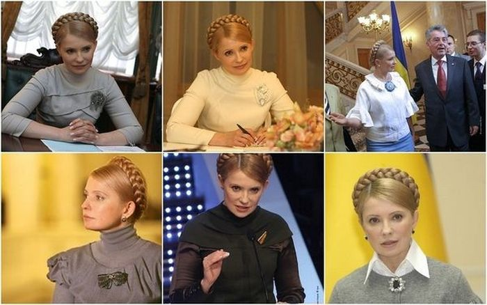 Броши Юлии Тимошенко (8 фото)