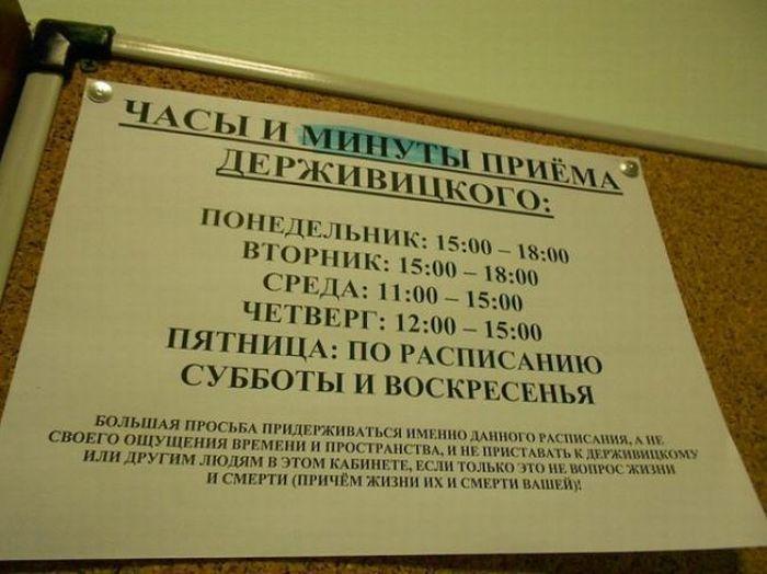 Заместитель декана Держивицкий, великий и ужасный (14 фото)