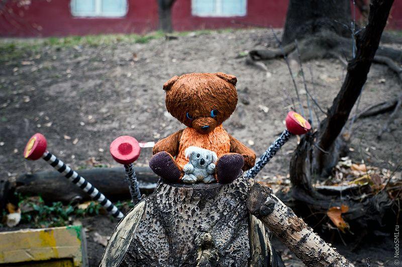 112 Кладбище домашних игрушек