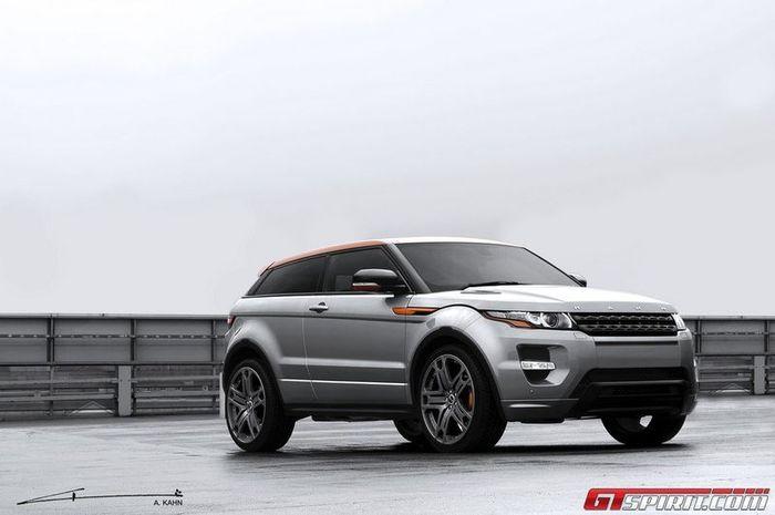 В ателье Project Kahn подготовили стайл-пакет для Range Rover Evoque (5 фото)
