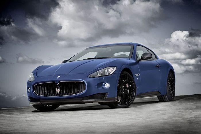 В Maserati представили юбилейную GranTurismo S (7 фото)