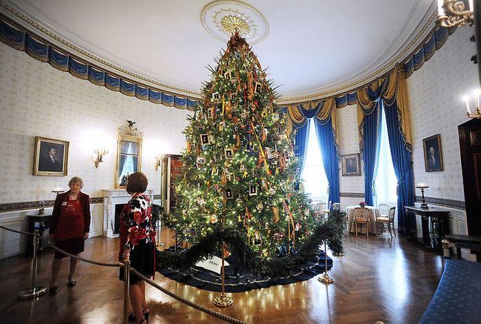 Новогодняя елку в Белом доме (36 фото)