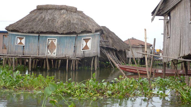 342 Африканская Венеция: Город озеро Ганвье