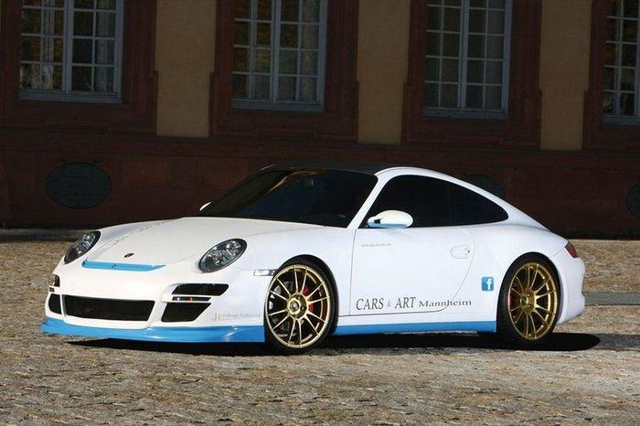 Porsche 911 Carrera 4S от ателье Cars&Art (9 фото)