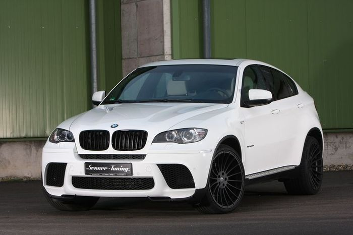BMW X6 xDrive40d Alpine White от ателье Senner (7 фото)