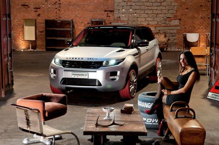 Range Rover Evoque HFI-R от компании Marangoni (54 фото)