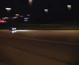 Ford GT с двумя турбинами на трассе