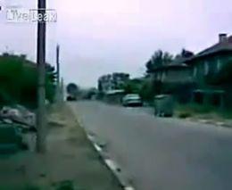 Цыгане уходят от полицейской погони