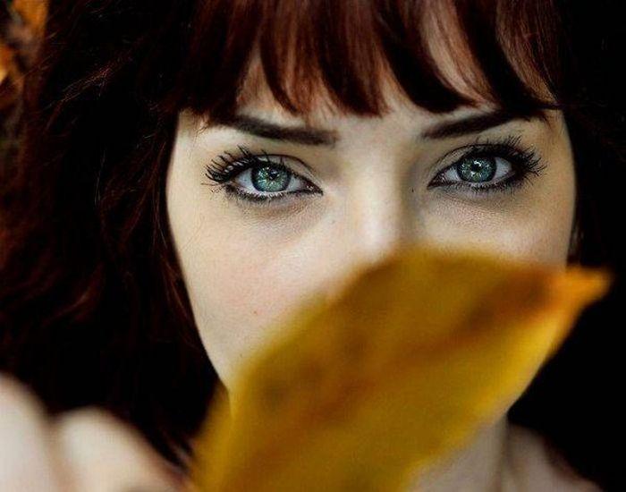 Великолепные женские глаза (40 фото)