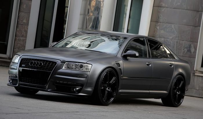 Audi S8 Superior Grey Edition от ателье Anderson Germany (10 фото)