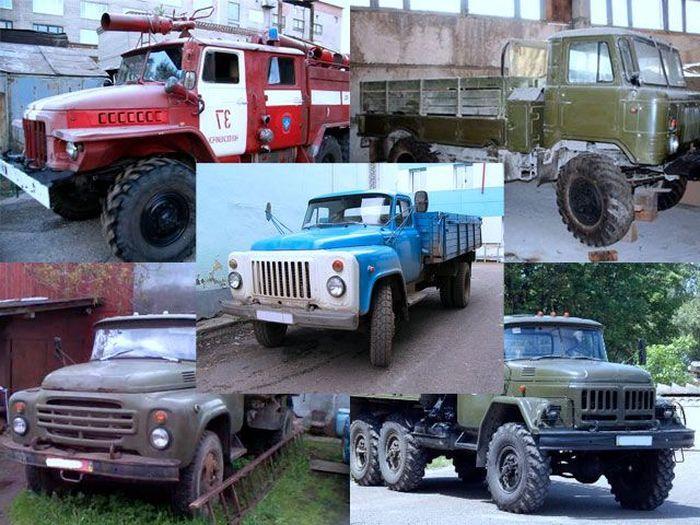 Что общего между этими автомобилями? (6 фото)