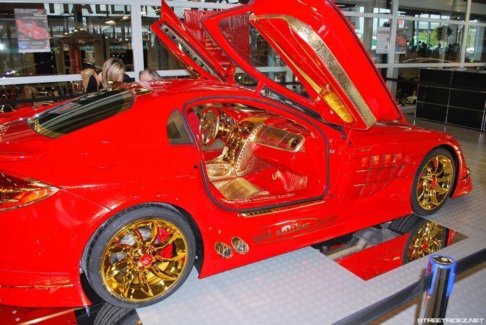 Mercedes-Benz SLR McLaren Red Gold Dream продают за 11 млн.$ (20 фото+2 видео)