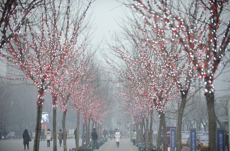 pollution011 Загрязнение окружающей среды в Китае