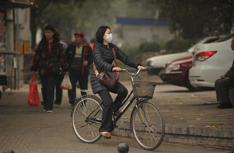 pollution020 Загрязнение окружающей среды в Китае
