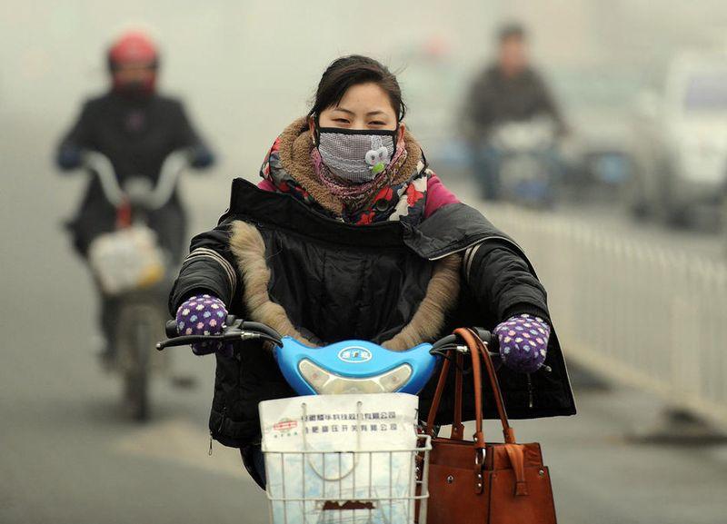 pollution024 Загрязнение окружающей среды в Китае