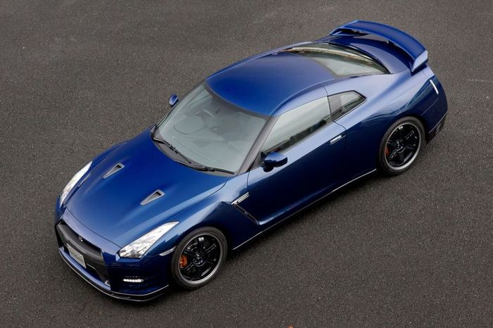 Новый Nissan GTR получил пакет Track Pack (5 фото)